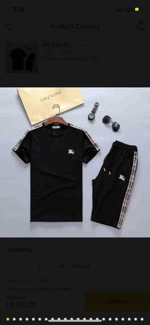 Burberry outfit with sweatpants for Sale in Davie, FL