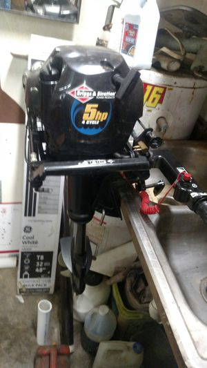 Outboard 5HP Air Cooled 4 cycle for Sale in Prince George, VA