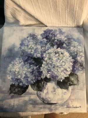 18x18 painted canvas for Sale in Raleigh, NC