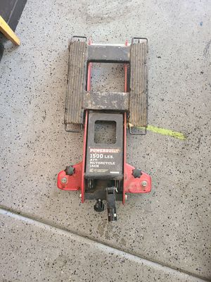 Motorcycle/atv jack with handle for Sale in Las Vegas, NV