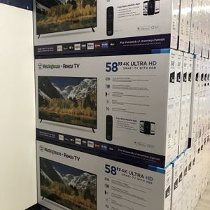 58 INCH WESTINGHOUSE 4K SMART TV for Sale in Chino, CA