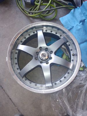 "Tenzo R single rim 18"" 114 and 110 bolt pattern for Sale in Riverside, CA"