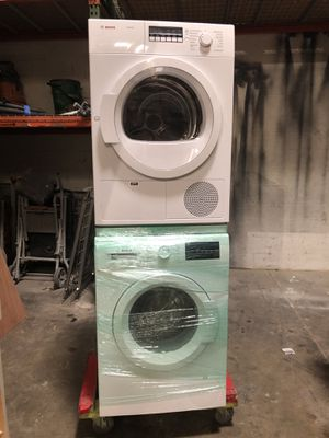 Bosch Ascenta - White WTB86200UC - Stackable Washer & Dryer Set for Sale in Fort Lauderdale, FL