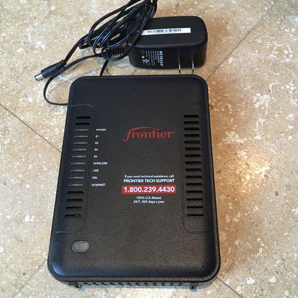 Netgear DSL modem router combo