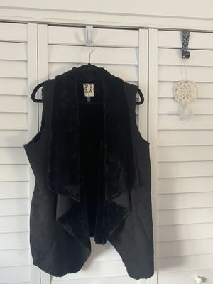 PQLA black winter/fall vest for Sale in Boca Raton, FL