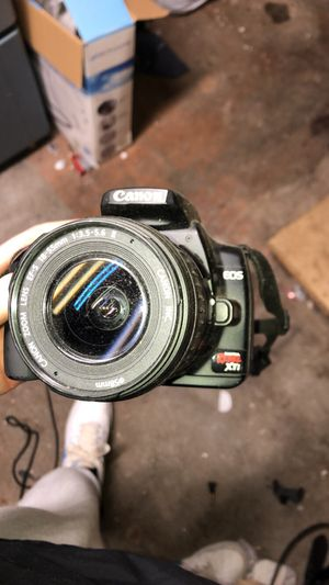 Canon Rebel XTI Digital Camera for Sale in Bellingham, MA