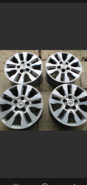 For sale tundra and sequoia rims for Sale in Chicago, IL
