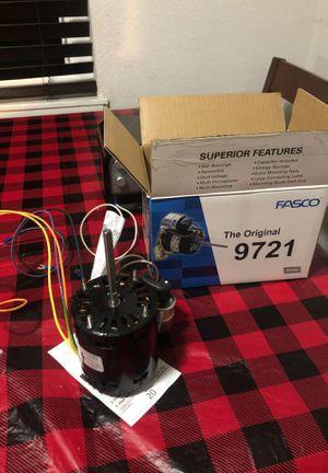 Fasco fan motor 1/12HP, 115/208v, 1350/1550RPM for Sale in Fresno, CA