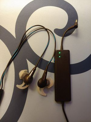 Bose QC 20 Noise Cancelling Earbuds Headphones for Sale in Mukilteo, WA