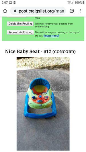 NICE BABY SEAT for Sale in Lynchburg, VA