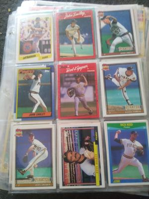 55 sleeves of baseball cards for Sale in Wichita, KS