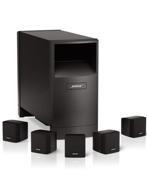 Bose Speakers + Yamaha Reciever, Free Belkin music player($24) and Rear Bose speaker holder ($34) for Sale in Lewis Center, OH