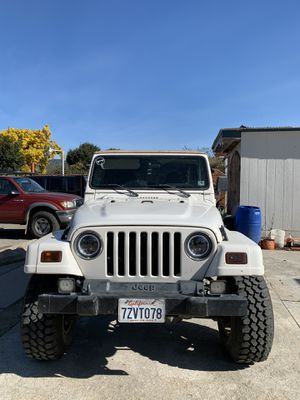 2001 Jeep Wrangler 4.0L Sahara for Sale in Salinas, CA