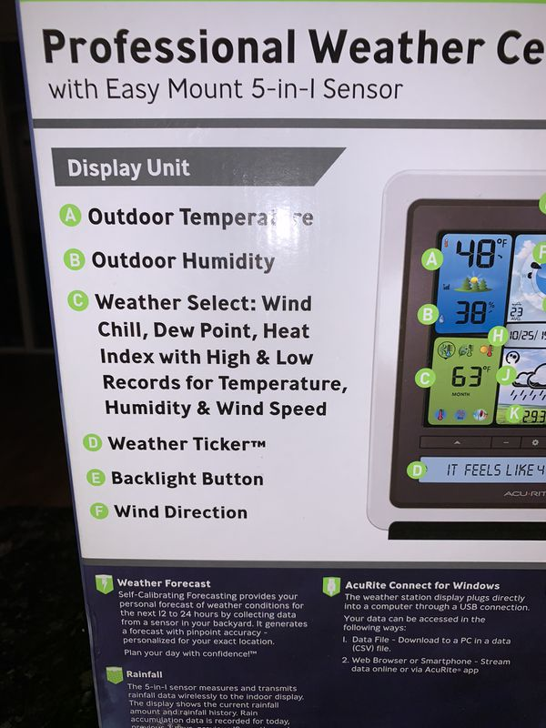 Weather center/predict weather kit