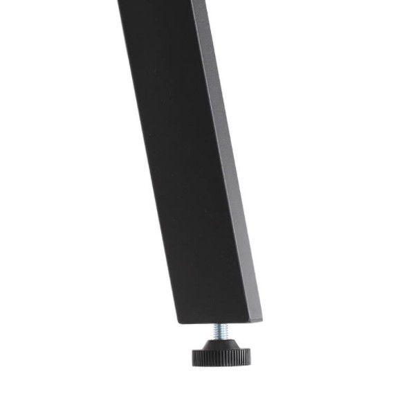 Rustic Brown 4 Tier Industrial Urban Ladder Shelf, Bookshelf, Storage Rack Shelves for Living Room, Kitchen, Office, Iron, Stable, Sloping