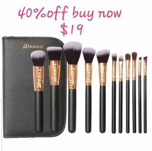 11pcs professional makeup brushes from LA Makeup for Sale in Los Angeles, CA