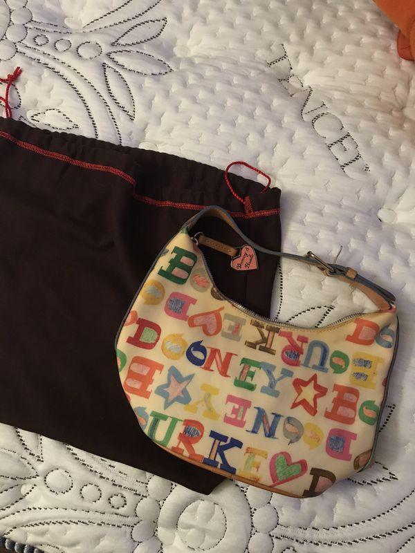 Vintage Dooney & Bourke mini purse