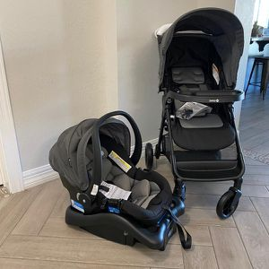 Safety 1st Smooth Ride Travel System with OnBoard 35 LT Infant Car Seat [ Stroller + Car Seat]- BRAND NEW IN BOX for Sale in Peoria, AZ