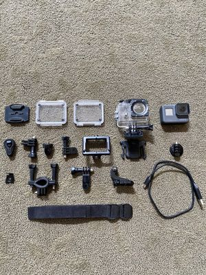 GoPro Hero 5 Black and Underwater Housing + Extras for Sale in San Ramon, CA