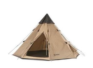 10 x 10 Teepee Camper Hiking Camping Outdoor Tent Sleeping Dome Shade Shelter Waterproof for Sale in Toledo, OH