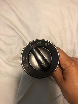Volkswagen/Audi Standard European Headlight Switch - Black for Sale in Cambridge, MA