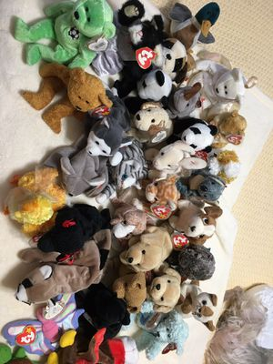 Over 50 Beanie Babies with plastic Tags for Sale in Annapolis, MD