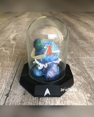 Star Trek Romulan Bird Of Prey Figurine and Glass Dome Limited Edition Sculpt. No. CP10107 From The Franklin Mint NEW! for Sale in Kissimmee, FL