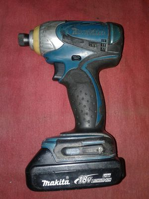 USED 18V MAKITA IMPACT DRIVER NO CHARGER $59 for Sale in Tustin, CA