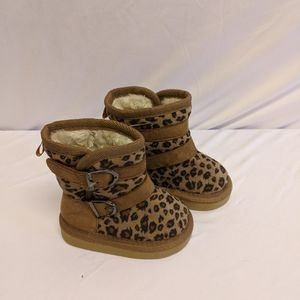 Cute Size 3 Leopard Boots New Work Tag for Sale in Fort Lauderdale, FL