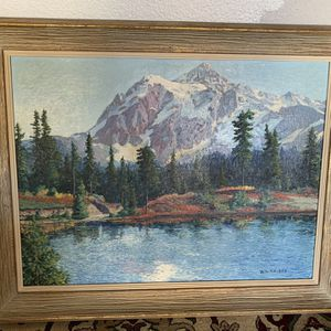 28x 22 William FM Kay painting for Sale in Tracy, CA