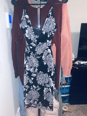 Flower black dress for Sale in Lacey, WA