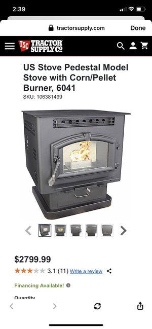United States Stove Company Pellet stove for Sale in Hallstead, PA