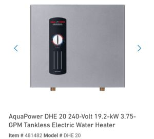 BRAND NEW ELECTRIC WATER HEATER for Sale in Las Vegas, NV