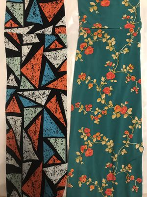 Qty 2 Lularoe LLR Maxi Skirts - M for Sale in Dulles, VA