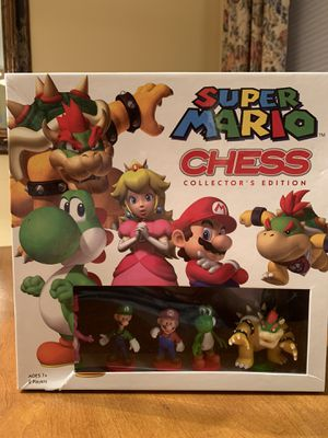 Super Mario Chess game Collector's Edition for Sale in Oswego, IL