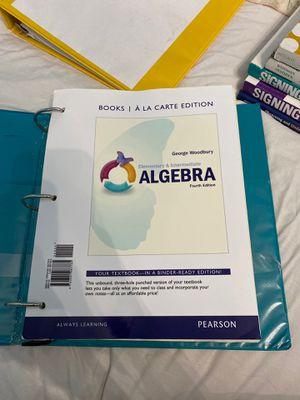 Math 200 book for Sale in Tulare, CA