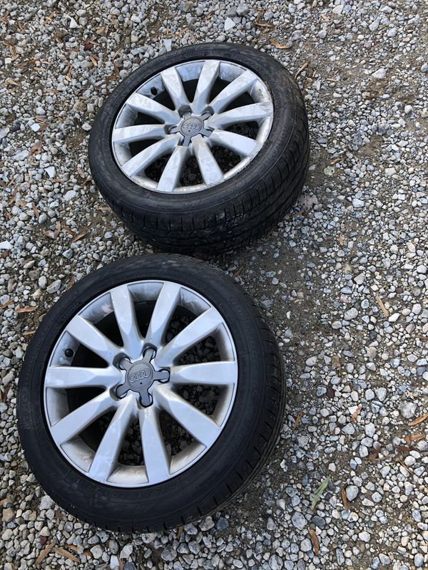 Audi rims and tires