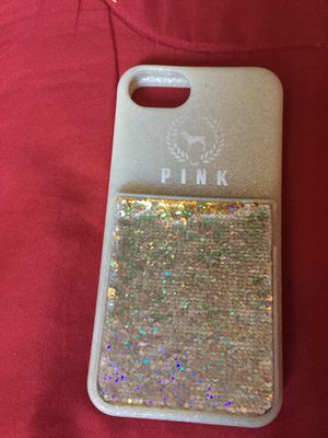 PINK IPHONE CASE FOR IPHONE 8 for Sale in San Diego, CA