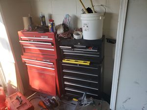 Tools boxes full at tools 300 O.B.O for Sale in Kissimmee, FL
