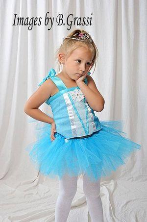 Custom Queens Elsa tutu dress for Sale in Damascus, OR