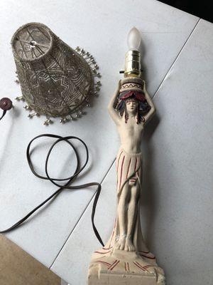 Indian Theme Lamp Vintage for Sale in Manassas, VA