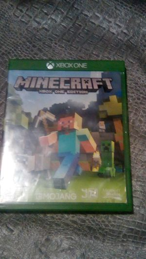 Xbox One Mincraft game for Sale in Los Angeles, CA