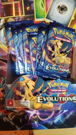 Pokemon XY Evolutions Booster Pack Charizard Sealed for Sale in Norwalk, CA