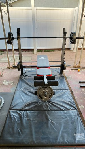 Brand New Olympic Weight Bench w/ Leg Ext!!! for Sale in San Diego, CA