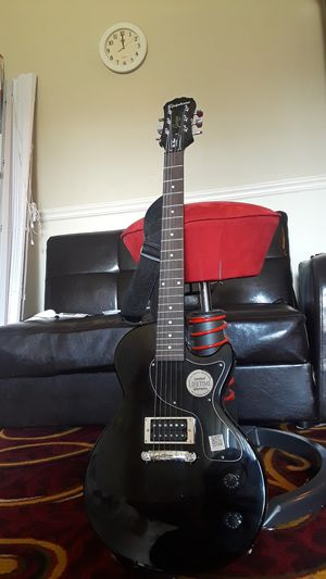 Ephiphone Guitar with strap for Sale in Oxon Hill, MD