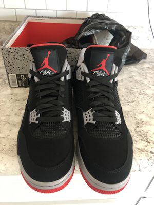 Jordan 4 Retro Bred sz 12 - Brand New for Sale in Phoenix, AZ