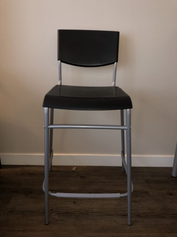 Ikea Kitchen Table And Bar Stool X2 For Sale In Seattle