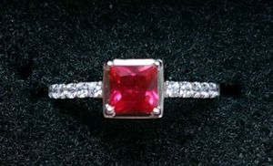Beautiful sterling silver ruby ring for Sale in Baltimore, MD