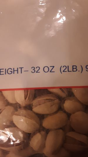 2 lb bag of pistachios must sell tonight for Sale in El Mirage, AZ