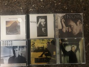 Sting CDs, 6 total for Sale in Marysville, WA